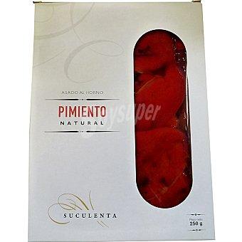 SUCULENTA Pimientos rojos asados al horno Tarrina 250 g