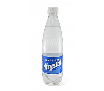 KRYSTAL Agua con gas Botella 500 cc