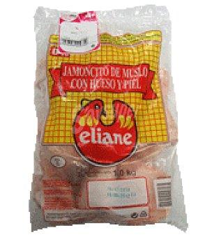Embutidos Tenerife Jamoncitos de muslos de pollo congelados Bolsa de 1 kg