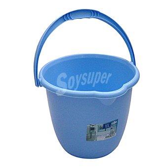 Carrefour Cubo de agua 10 litros color azul 1 ud