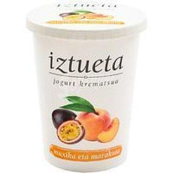 Iztueta Yogur de melocotón-maracuyá Tarro 500 g