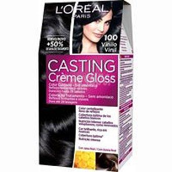 Casting Crème Gloss L'Oréal Paris Tinte negro N. 100 Caja 1 unid