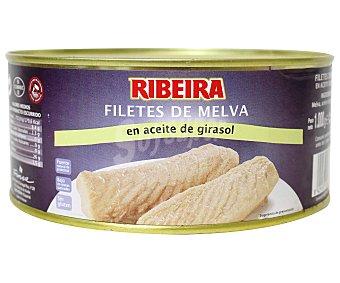 Ribeira Filetes de melva en aceite de girasol 650 Gramos