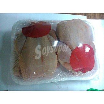 Pollo para asar Bandeja 2 uds 2 kg