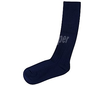 In Extenso Media colegial para niño, color azul marino, talla 31/34