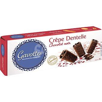 GAVOTTES Galletas bañadas de chocolate negro Caja 90 g