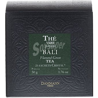 Dammann Té verde Bali 25 sobres Envase 50 g