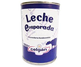 Celgán leche evaporada lata 410 g peso neto