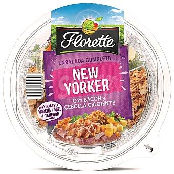 Florette Ensalada Completa ensalada new yorker con bacon & cebolla frita tarrina 205 g