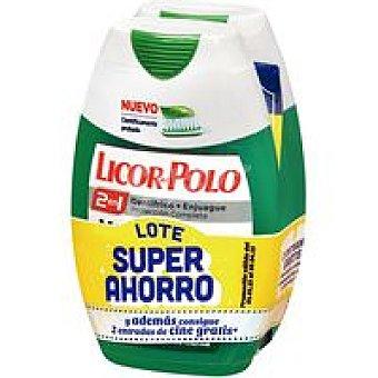 Licor del Polo Pasta menta fresca duplo Pack 2x75 ml