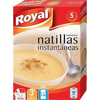 Royal Preparado para natillas instantáneas 5 raciones Estuche 94 g