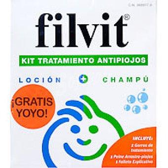 GRUPO URIACH Filv kit tratamiento contra piojos Bote 200 ml