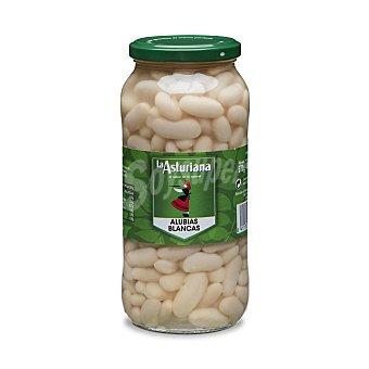 La Asturiana Alubias blancas cocidas Frasco 400 g peso escurrido