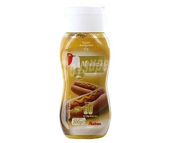 Auchan Mostaza antigoteo 300 gramos