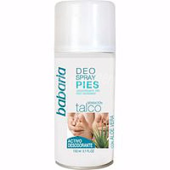 Babaria Desodorante para piés Spray 150 ml