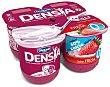 Yogur desnatado con sabor a fresa que ayuda al control de la densidad ósea 0% 4 x 120 g Densia Danone
