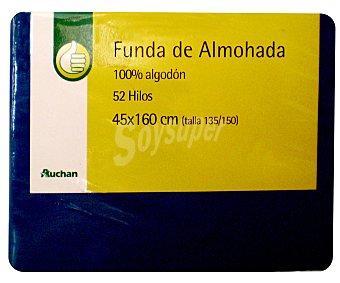 Productos Económicos Alcampo Funda de almohada 150cm Azul 1 unidad