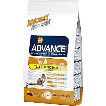 Advance Affinity Alimento de alta gama para gatos adultos de 1 a 10 años rico en pollo y arroz Adult Bolsa 1,5 kg