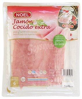 Noel Jamon cocido lonchas lata Paquete 200 g