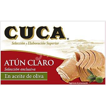 Cuca Atún claro en aceite de oliva Lata 164 g