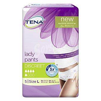 Tena Lady Pants Talla L Paquete 5 unid