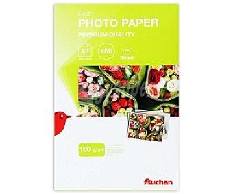 Auchan Papel Foto Glossy A6 180 Gramos 180 Gramos