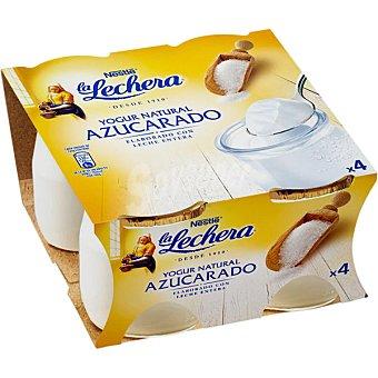 La Lechera Nestlé yogur natural azucarado pack 4 unidades 125 g
