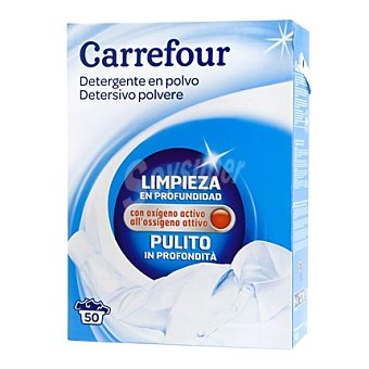 Carrefour Detergente en polvo fresh 50 cacitos