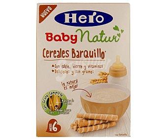 Hero Baby Papilla de cereales con barquillo especial para bebés a partir de 6 meses 500 gramos