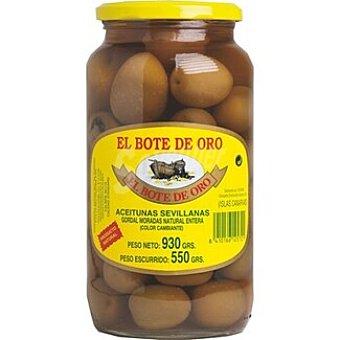 El Bote de Oro Aceitunas gordal morada Frasco 550 g neto escurrido