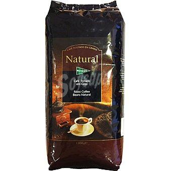 El Corte Inglés Café natural en grano Bolsa 1 kg