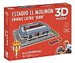 Puzzle 3D Estadio El Molinón del Real Sporting de Gijón de 98 piezas, FORCE. Eleven Force