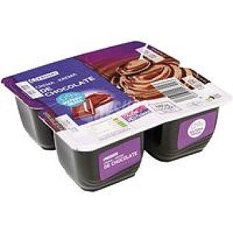 Crema de choco 0 Pack 4x120 gr
