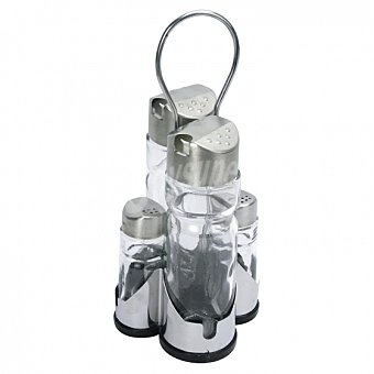 Pack 4 Útiles Mesa equinox - Acero Inox 1 ud