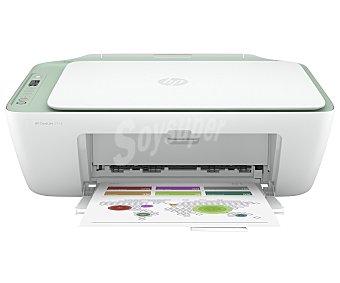 HP Impresora Multifunción Wi-Fi, copia, imprime y escanea, Instant Ink Deskjet 2722