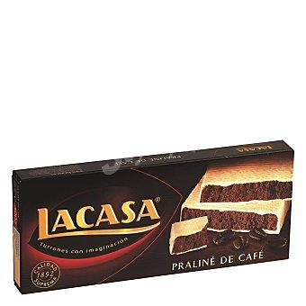 Lacasa Turrón praliné de café 225 g