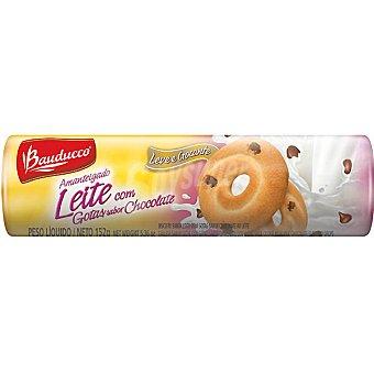 Bauducco Galletas de mantequilla con gotas de chocolate Paquete 152 g