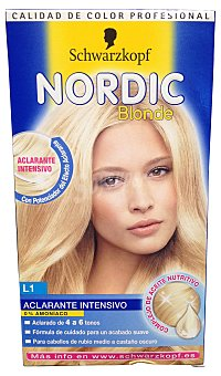 Nordic Colors Aclarante intensivo rubio L1 ultra 1 ud