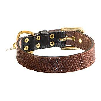 Be-two Collar marrón para perro talla M 1 unidad