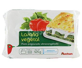 Auchan Lasaña vegetal 525 gr