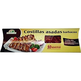 KRUSENBUR Costillas asadas a la barbacoa marinadas  Pieza 500 g