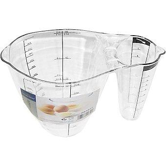 CASACTUAL Jarra Medidora con dos medidores de cristal