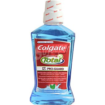 Colgate Enjuague bucal Total protección contra la placa bacteriana 500 ml