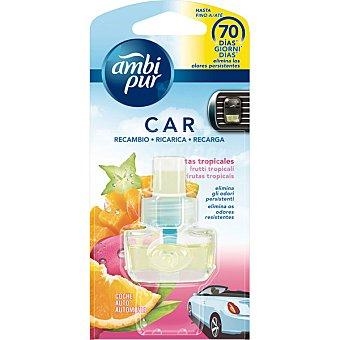 AMBIPUR CAR Ambientador de coche fruta tropical recambio