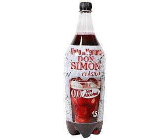 DON SIMON tinto de verano clásico sin alcohol botella 1,5 l