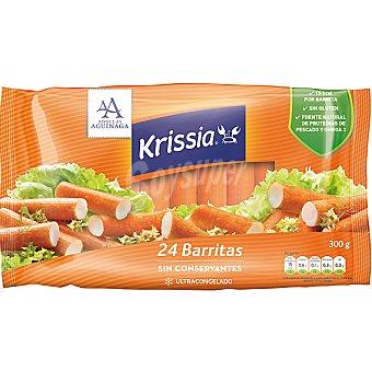 KRISSIA barritas de surimi sin gluten estuche 300 g