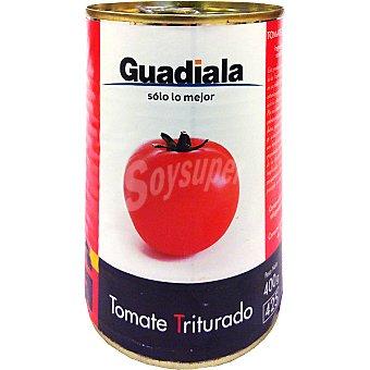 Guadiala Tomate natural triturado Lata 400 g neto escurrido