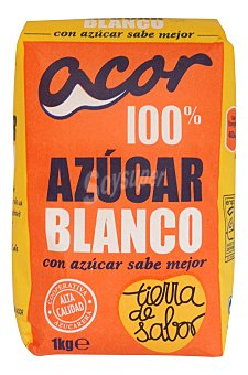 Acor Azucar blanco Paquete 1 kg