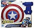 Escudo y guante magnéticos del Capitán América, de Los Vengadores. hasbro  Hasbro