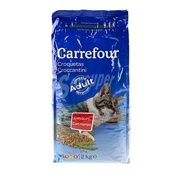 Carrefour Comida para gatos 2 kg